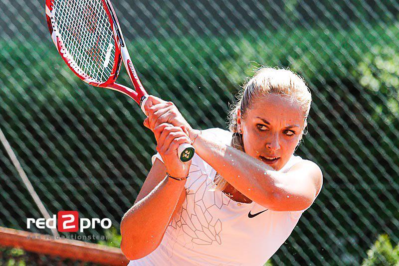 Sabine Lisicki beim Training